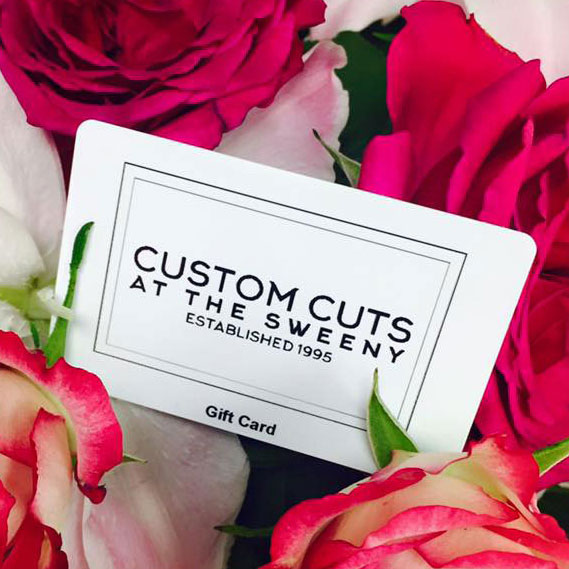 Custom Cuts Gift Cards / Vouchers
