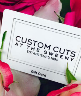 The Perfect Christmas Gift At Custom Cuts